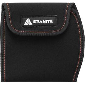 Granite Pita Cubierta Pedal Largo, negro
